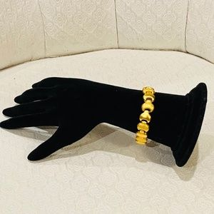 Vintage Matte Gold Bracelet